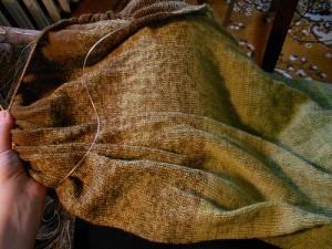 покрывало из семеновской шерсти