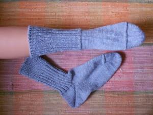 носки с пяткой-бумерангом