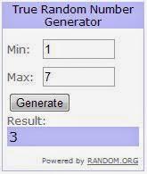 генератор случайных чисел