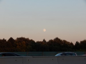 луна над МКАДом