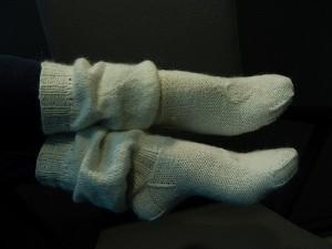 носки фонариком
