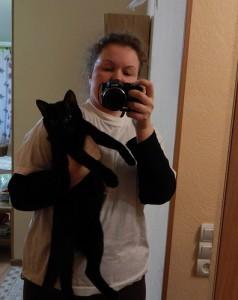 я и кот Чернозём