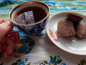 чай и шоколадные печеньки
