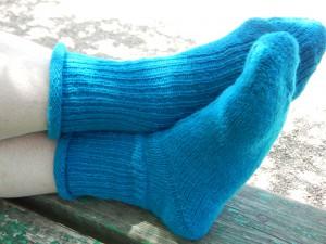 носки на ногах