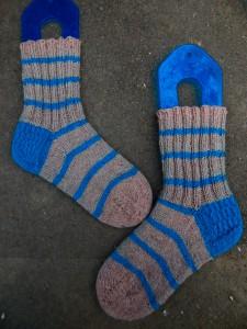 полосатые носки рядом