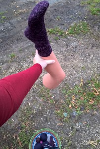 ноги в руки
