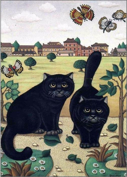 чёрные коты, Андре Дюрантон