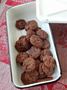 шоколадно-кофейное печенье с нутеллой | Хорошо.Громко.