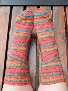 полосатые носки