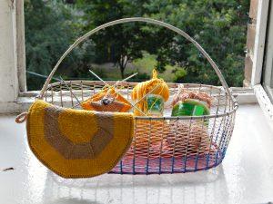 корзинка с вязанием | horoshogromko