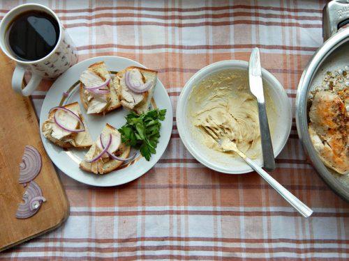 КВЗП – бутерброды с курицей