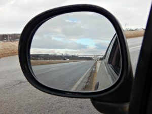 дорога в зеркале | road in rear view mirror | HoroshoGromko.ru
