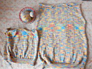 свитер, спинка и половина переда | HoroshoGromko.ru
