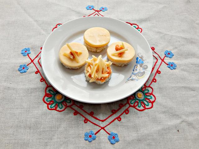 КВЗП:  канапе с сыром